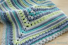 Felted Button: ::Ahhh! The Breath of Heaven Blanket Crochet Pattern::