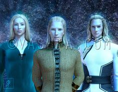 Galactic Family for Sean Notes for the client: The vibe I am getting is more complex than placing these guys under one race or civilization. Les Aliens, Aliens And Ufos, Alien Creatures, Fantasy Creatures, Nordic Aliens, Lotr Movies, Masculine Energy, Alien Concept Art, Pointed Ears