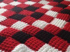 close up - tunisian crochet