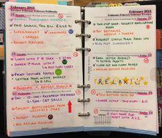 bake, write & live life: My Filofax Week... #2