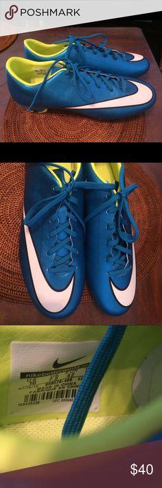 NWOT Nike Mercurial cleats women 10 Never worn!  No box.  Mercurial Vapor, women 10. Nike Shoes Athletic Shoes