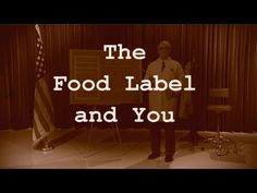 Jenille reviews how to read a food label including the nutrition facts panel and %DV. - YouTube