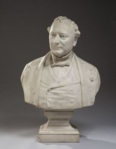 Antoine-Samuel ADAM-SALOMON - Buste d'Isaac Pereire, Up for sale during the sale…