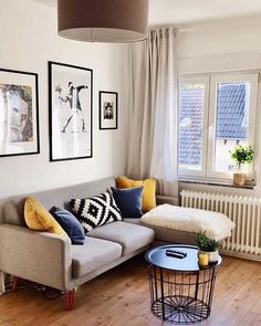 """So happy to see our """"Amalia poster"""" and """"Fernando Pessoa"""" art print in the beautiful livingroom of the lovely Collage Artists, Lisbon, Portugal, Art Pieces, Portraits, Art Prints, Living Room, Happy, Poster"""