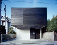 House for an Ophthalmologist, Suginami Ward, Tokyo, Japan by Apollo Architects and Associates