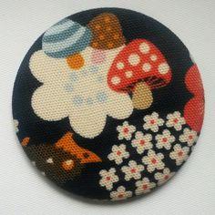 Magnet foret russe #1 tissu coton epais 56mm // 4€