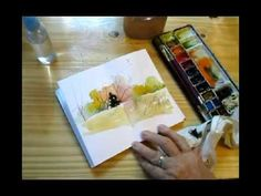 Watercolor Sketching & Journaling - Part 1 - Gay Kraeger - YouTube
