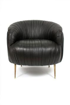 Souffle Leather Chair - Kelly Wearstler