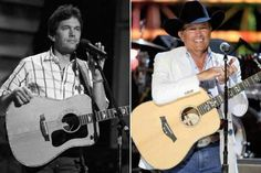 Then and Now 30 yrs apart George Strait Can't wait to see him in June