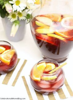 Delicious Spiced Sangria - Celebrations at Home