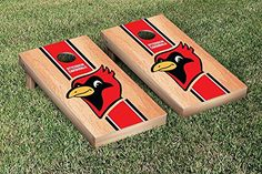 Otterbein OU Cardinals Cornhole Game Set Hardcourt Stripe Version ** Visit the image link more details.