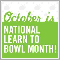 FREE Bowling for National Learn to Bowl Month