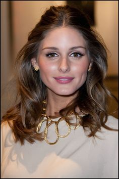 Her make-up is always flawless! Wedding Bride: Olivia Palermo at the Dior Haute Couture 2012 Show During Paris Fashion Week