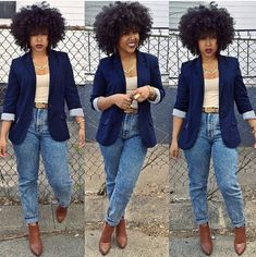 Love the hair and especially the outfit! Different shoes tho.