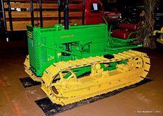John Deere crawler tractor