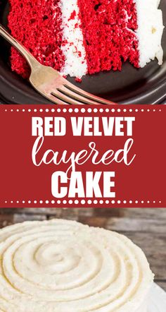 Vibrantly colored homemade red velvet cake is kept moist with buttermilk. Frost the from scratch cake with cooked flour frosting for a lightly sweetened cake. Homemade Red Velvet Cake, Beef Recipes, Cake Recipes, Cupcake Cakes, Cupcakes, Frosting, Delicious Desserts, Food, Birthday Cakes