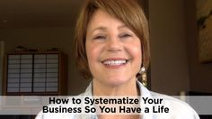 To make six-figures in business, systematize your business so that you can work on your business rather than working in your business.  Sherold Barr www.sheroldbarr.com