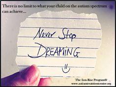 Vencer Autismo: Não existe limite para o que a sua criança noespet...