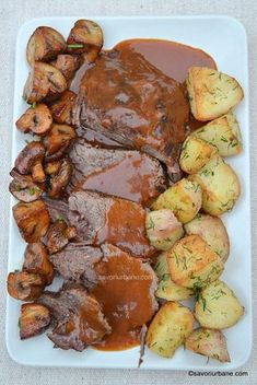 Meat Recipes, Cooking Recipes, Healthy Recipes, Good Food, Yummy Food, Romanian Food, Healthy Meal Prep, Diy Food, Food Videos