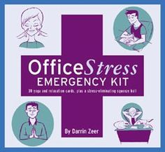 If the daily grind is wearing you thin, look no further than this desktop kit adapted from the popular Office Yoga, Office Spa, and Everyday Calm books. Whether you're overworked, overwhelmed, or just plain over it, pick a card, and let these simple, good-for-you stretches, poses, and rituals ease you into a soothing and productive work life. Includes a stress-reducing ball for squeezing away worries.