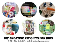 Do It Yourself Gifts to Make for Kids - 55+ Handmade Toys, Creative Kits, Dolls, and More - B-InspiredMama.com