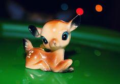 cute little vintage deer