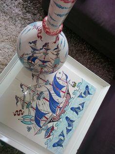 Handmade,çini,dekorasyon...