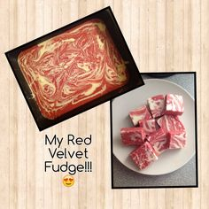 image3 Slow Cooker Fudge, Slow Cooker Recipes, Other Recipes, Sweet Recipes, Red Velvet Fudge, Recipe For 4, Recipe Ideas, Candy Melts, Fudge Recipes