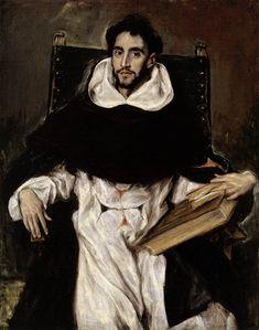 Fray Hortensio Felix Paravicino by El Greco, 1609