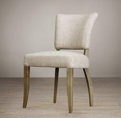 Adèle Upholstered Dining Chair, Restoration Hardware, $279