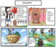 Give a Diglett a Balloon