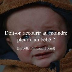 Doit-on accourir au moindre pleur d'un bébé ?