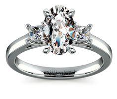 Oval Princess Trellis Diamond Engagement Ring in Platinum  http://www.brilliance.com/engagement-rings/princess-diamond-ring-platinum-1/4-ctw
