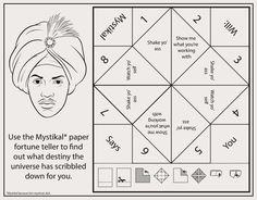 Bun B's Jumbo Coloring And Rap Activity Tumblr | Click here to download the Mystikal paper fortune...
