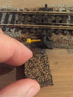 mini things 4  x 8  o scale layout with mth track and