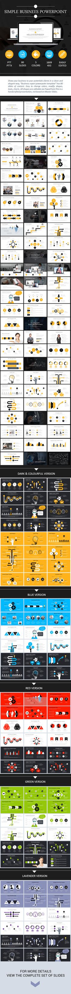 Buy Simple Businees Powerpoint by phambach on GraphicRiver. Simple Businees Powerpoint General Features 80 well designed powerpoint slides and aspect ratio 15 Cool Them. Keynote Design, Brochure Design, Presentation Layout, Presentation Templates, Power Point Template, Cool Powerpoint, Aspect Ratio, Slide Design, Communication Design