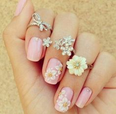 These rings are the perfect accessories for the perfect nails