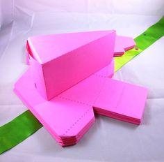 25 Cake Box Die Cuts by TreasureHill on Etsy, $7.95