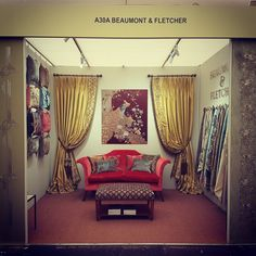 The Beaumont & Fletcher Stand A30A at Decorex 2016. Come and see us!