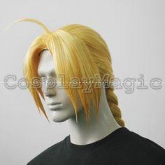 CosplayMagic.com -- FullMetal Alchemist Edward Elric Cosplay Wig $47