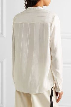 d4e6c24e3ba34c 26 Best cream blouse images in 2017 | Blouse, Casual outfits, Fall ...