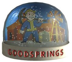 Fallout: New Vegas Goodsprings Snow Globe