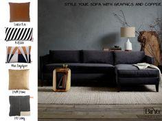 Binti Home Blog: Interieurtrends 2013 en woninginrichting inspiratie | Kies voor koper en zwart in je interieur