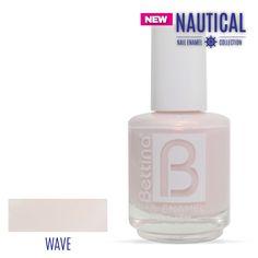 """¿Ya viste los nuevos colores de nuestra colección """"Nautical"""".Este es el #Bettina #NailEnamel en el nuevo color """"Wave"""". #NailPolish #SummerNails"""