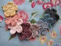easy crochet flower.