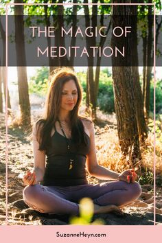 Meditation is the most powerful practice to achieve inner peace, self-love and strength your intuition! It will help you connect to your soul and find the answers within. Click through to learn more.