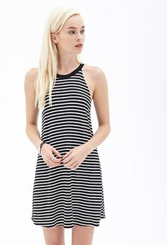 Striped Knit Dress | FOREVER21 - 2000099445