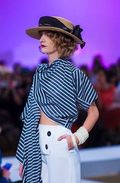 """""""Women in Mykonos Show"""": The complete looks """"Women in Mykonos through the decades…from 30s to 80s…"""" Fashion Show Garments By Vassilis Zoulias & Jewellery By Pericles Kondylatos Collection resort s/s 16 Make-up: Manos Vinihakis, Hair: Tryfonas Samaras Intercontinental Grand ballroom / 18th Athens Xclusive Designers Week Sat. oct 24th"""