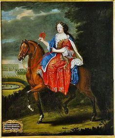 Madame la comtesse de Saint Geran, 1675 by Joseph Parrocel (1646-1704)