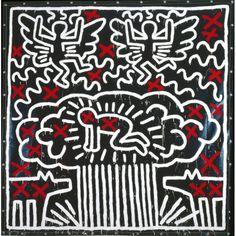 Keith Haring y una mirada política sobre su obra